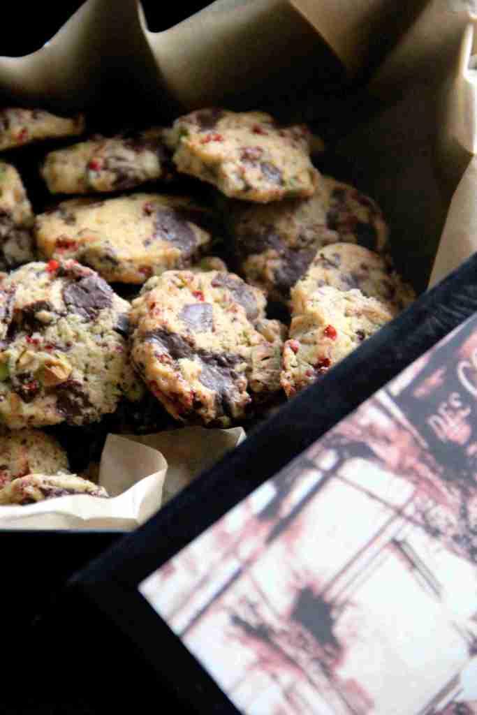 sausainiai su rausvaisiais pipirais