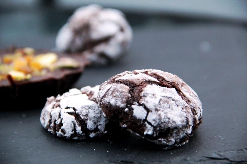snieginiai sausainiai